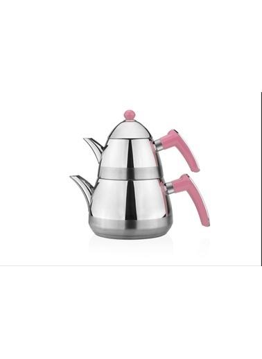 Taç Mutfak Casablanca Çaydanlık - Pembe Pembe